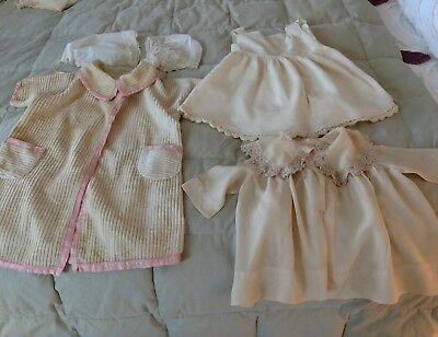 Lot of Antique Baby Clothes c.1900