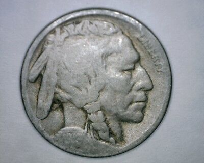 1919 D Buffalo Nickel   Old Acid Date