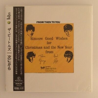 The Beatles From Then To You Cd Mini Lp