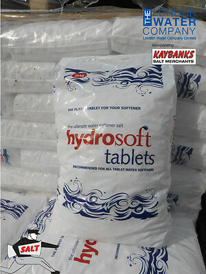 25kg Hydrosoft Tablet Salt for Water Softeners COLLECTION ONLY LONDON N11 1NF