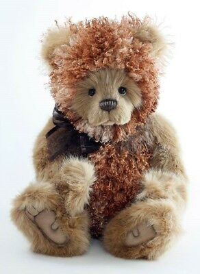 """BAMPA Charlie Bears 19.5"""" Jointed Plush Bear by Isabelle Lee CB171798 - NEW!"""