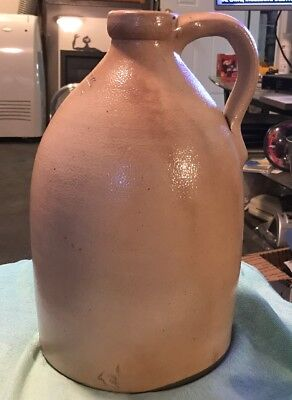 Vintage F.B. Norton & Co Worcester Mass Jug with a Applied Handle 1858-1894