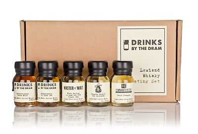 Various Distilleries - Drinks By The Dram Lowland Whisky Tasting Set  Whisky