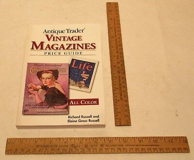 VINTAGE MAGAZINES - Antique Trader - PRICE GUIDE - All Color - paperback BOOK