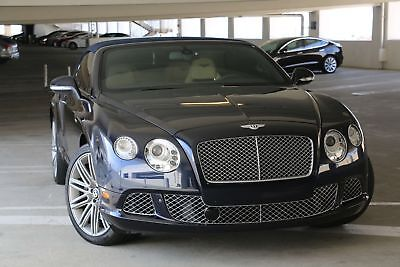 2012 Bentley Continental GT Mulliner 2012 Bentley Continental GTC Convertible Mulliner Package (Executive Edition)