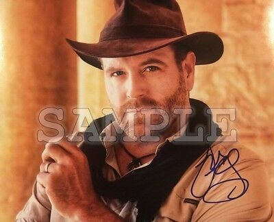 Josh Gates signed 8x10 Autograph Photo RP - Free ShipN! Expedition Unknown
