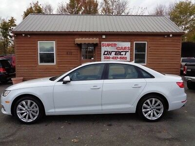 2017 Audi A4  2017 Audi A4 Quattro 2.0 Turbo  1 Owner Carfax Certified Leather Sunroof