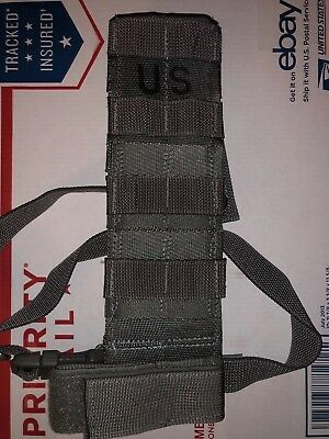 Us Army Military Surplus Acu Molle Ii Tactical Holster Drop Leg Extender New