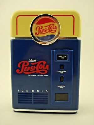 Vintage Pepsi Cola Coin Sorter Bank New in Box