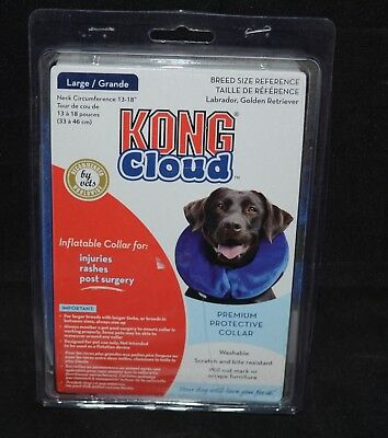 KONG Cloud E-Collar Inflatable protective for dogs and cats/NEW/LARGE