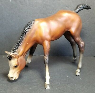 Vintage Breyer Molding Company Traditional Grazing Foal Horse USA Stamp