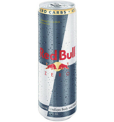 Red Bull Zero Cans 473ml x 12