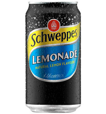 Schweppes Lemonade 375ml x 24