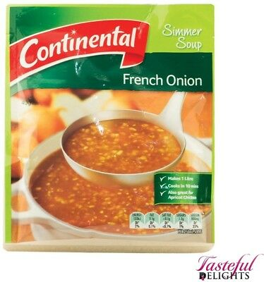 Continental Packet Soup French Onion