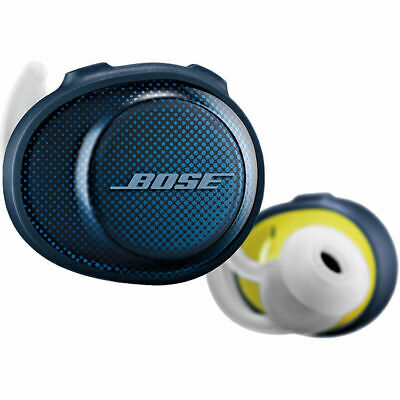 BOSE SoundSport Free Wireless Headphones (Blue/Citron)