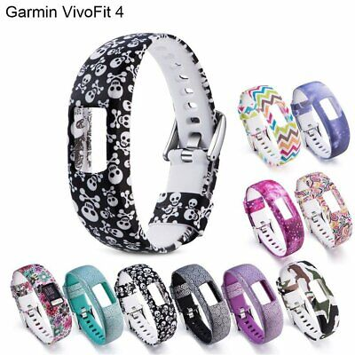 Silicone Replacement Band Strap Watch Wristband For Garmin VivoFit 4 Tracker DM