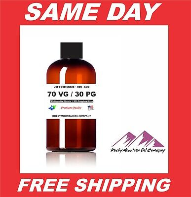 70 30 Vg Pg Mix Propylene Glycol Vegetable Glycerin Diy Juice Liquid Base Gallon