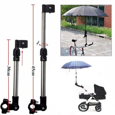 Baby Stroller Bike Bicycle Adjustable Umbrella Support Holder Pole Stand Beamy