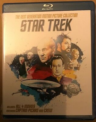Star Trek: The Next Generation - Motion Picture Collection (Blu-ray Disc, 2016)