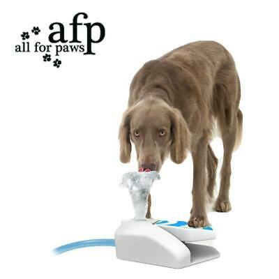 AFP Dog Water Drinking Fountain Outdoor Step Spray for Large Dog Drink