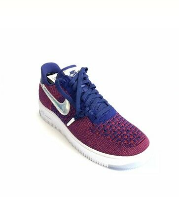 Nike Air Force 1 Low Ultra Flyknit Size 10 USA Olympic Red White Blue 826577-601