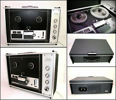 1960's SONY TC-260 4-Track Stereo Reel to Reel Tape Recorder