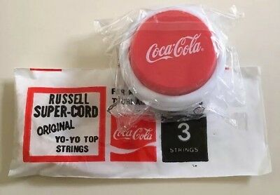 Coca Cola Yoyo Yo Yo And 1 Pack Of 3 Russell Strings