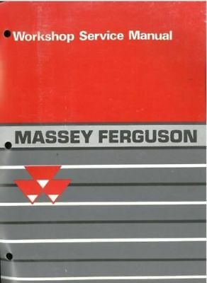 Massey Ferguson 3000 3100 Series Tractor Workshop Service Repair Manual (0022)