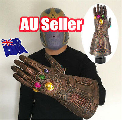 AU Thanos Infinity Gauntlet Glove Cosplay 2018 Infinity War The Avengers Prop JW