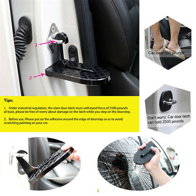 Vehicle Access Roof Of Car Door StJW Give You a Step To Easily Rooftop Doorstep