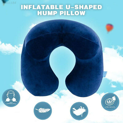 10F8 Airplane Cushion Earplugs 1set Travel Neck Support Soft Patch Blue
