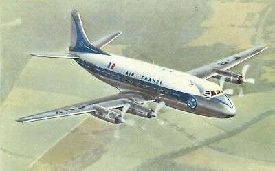 Cp Air France Vickers Viscount