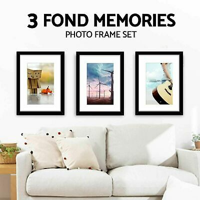 A2 A3 Size Various  Photo Poster Picture Frame Black White Walnut Oak Solid Wood