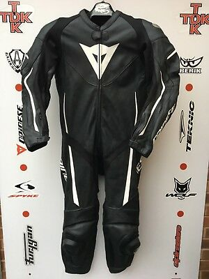 Dainese ASSEN 1 piece race suit with hump uk 44 euro 54