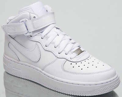 reputable site b5211 1d3a8 Nike Air Force 1 Mid GS Kid s Lifestyle Shoes White New 2018 Sneakers 314195 -113
