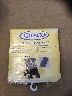 New Stroller Footmuff , From Graco , Main Colour Black & Grey