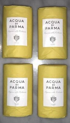 ACQUA DI PARMA COLONIA - JUMBO 100g SOAP BARS - 4 PIECE GIFT SET - BARGAIN!!!