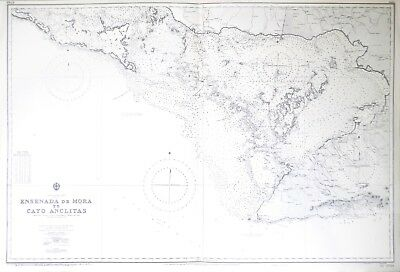 Admiralty Chart: Cuba - South Coast 1961
