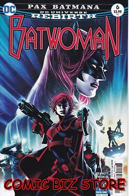 Batwoman #6 (2017) 1St Printing Bagged & Boarded Dc Universe Rebirth