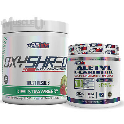 Ehplabs Oxyshred Acetyl L Carnitine Choose Flavour Ehp Labs
