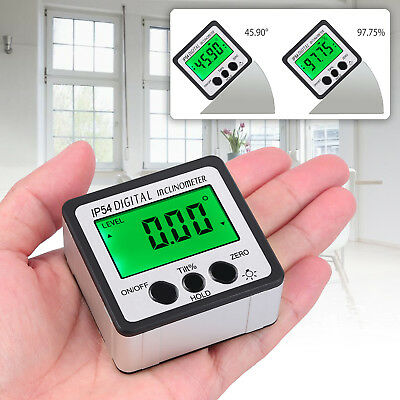 Digital Level Box Protractor Angle Finder Gauge Bevel nclinometer Magnetic NEW