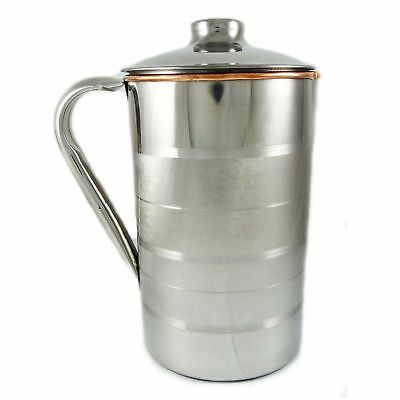 Indian Pure Copper Handmade 300 ML Tumbler Glass Health Benefit Ayurveda Water