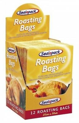 12 Large Roasting Bags Microwave Oven Cooking Poultry Chicken Turkey Meat Fish