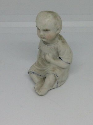 An Antique/vintage Odd Curio Figure Of A Baby - Possibly Dolls House