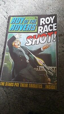 Roy of the Rovers comic 1981 mint condition