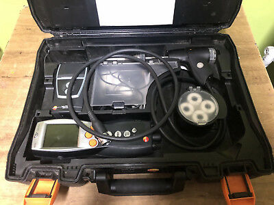 Testo 330-2 LL Flue Gas Analyser Combustion ONLY 22 WORKING HOURS