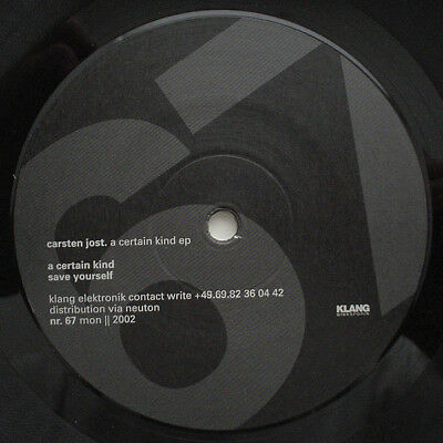 MOVE D - ROUND TWO - DEEP-HOUSE SCHLEIFER - Carsten Jost – A Certain Kind - AME