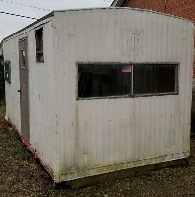 Office Trailer 16'x8' Baseboard Heat, Window AC , No wheels or axles. Bowie MD.