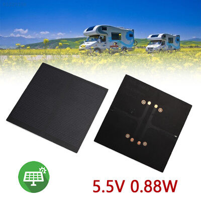 8F28 119C Travel Solar Light Solar Panel Outdoor 5.5V 0.88W Frosted Glass Plate