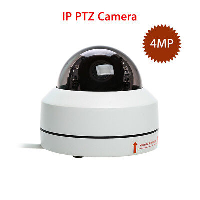 4MP IP PTZ Security Dome Camera HD1080P Waterproof 3x Zoom Infrared Night Vision